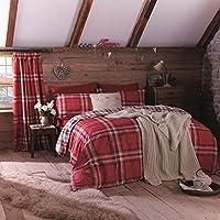 Catherine Lansfield Kelso - Juego de funda nórdica y almohada para cama de 105 cm