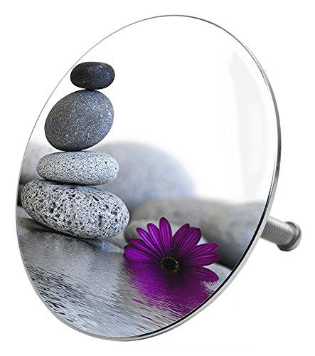 Badewannenstöpsel Energy Stones, deckt den kompletten Abflussbereich ab, hochwertige Qualität ✶✶✶✶✶