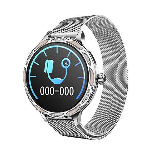 LHTCZZB Cámara remota Pulsera inteligente Bluetooth Pantalla táctil completa Reloj de fitness Tracker Monitoreo de ritmo cardíaco Modo deportivo Modo de deporte Vida útil de la batería adecuada para h