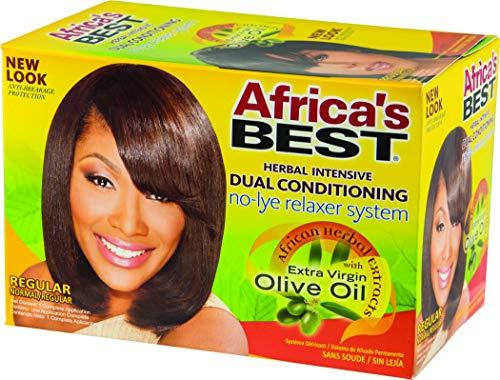 Africa s Best, balsamo lisciante Dual conditioning, senza liscivia, effetto rilassante, una applicazione (lisciante)