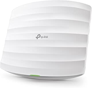 TP-Link EAP245 V3 Wireless AC1750 MU-MIMO Gigabit Ceiling Mount Access Point, Seamless Roaming, Supports 802.3af PoE and P...