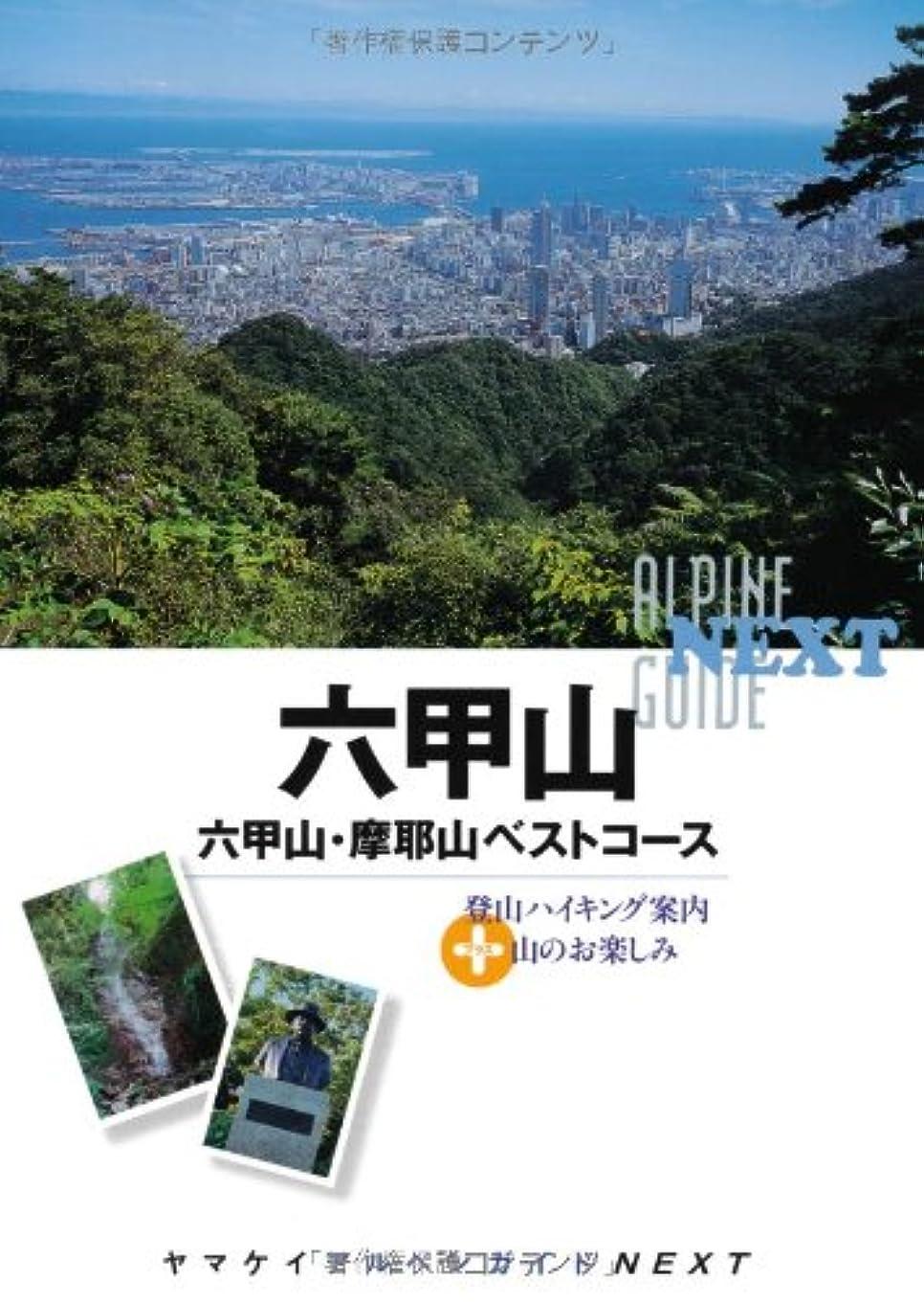 恩恵ベリ定義する六甲山 (ヤマケイアルペンガイドNEXT)