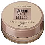 Maquillaje Maybelline sueño Mate Mousse Nueva York, 26, Hon