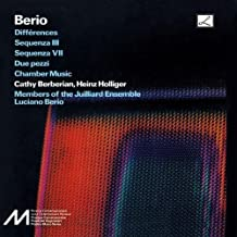 Berio: Differences; Sequenzas III & VII; Due pezzi; Chamber Music (2007-02-20)