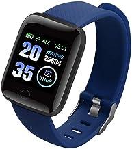 UIEMMY slim horloge Smart Horloges Hartslag Plus Heren Smartwatch Fitness Tracker Smart Polsbandjes Bloeddruk Stappentelle...