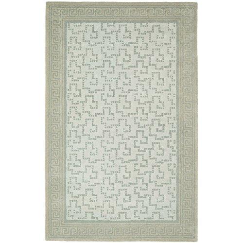 Safavieh Martha Stewart Collection MSR4537B Byzantium Premium Wool Rainwater Area Rug (5' x 8')