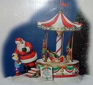 Department 56 Snow Village Santa Comes to Town 2004 56-55222