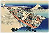 DPZAFL Lienzos Decorativos Características Retro Poster japonés...
