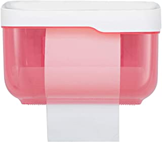 BICMTE Toilet Paper Holder - Wall Mounted Waterproof Paper Holder Bathroom Paper Roll Holder,Toilet Paper Dispenser Cat Pr...