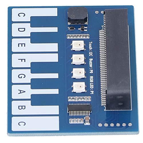 Tablero de expansión de piano mini módulo de piano 3.35x2.20 pulgadas zumbador a bordo para reproducir música maravillosa para piano