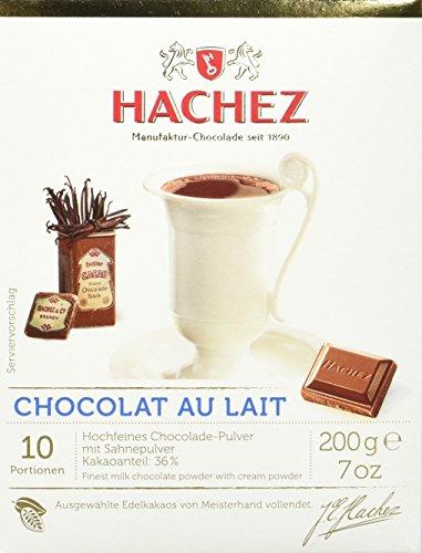 Hachez Heißgetränk - Chocolat au Lait Trinkchocolade (200 g)