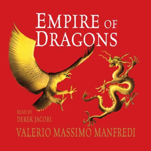 Empire of Dragons audiobook cover art