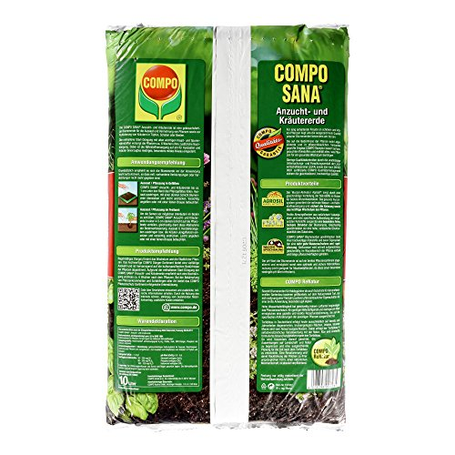 Compo 1062302 - Tierra para hierbas (10 l): Amazon.es: Jardín