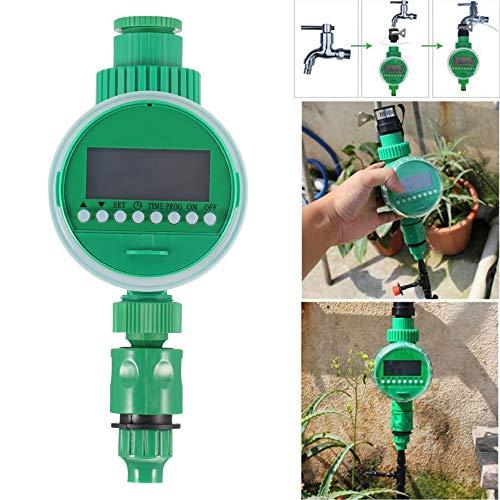 ONEVER Pantalla LCD Automático Inteligente Contador de Tiempo Electrónico de Goma Válvula Solenoide de Control de Rociadores de Riego Junta Diseño