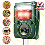 Best Animal Repellers - Wikomo Animal Repeller Solar Powered Waterproof, Motion Sensor Review
