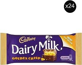 golden crisp chocolate bar