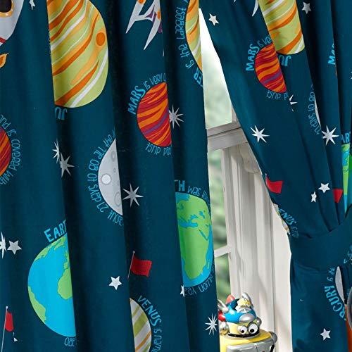 PriceRightHome Sistema Solar Cortinas Totalmente Forrado con Corbata Espalda 167,64 cm x 182,88 cm
