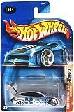 Hot Wheels Ford Focus Tech Tuners - Sintonizador (escala 1:64), color plateado