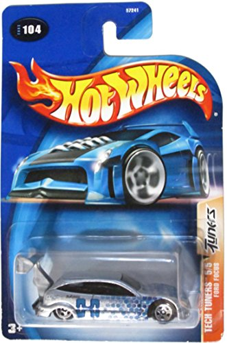 Hot Wheels Ford Focus Tech Tuners Silber 1:64