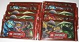 LEGO Booster Ninjago Serie 2 - 10 paquetes con 5 cartas