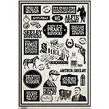 Peaky Blinders Poster Infographic Gangs of Birmingham