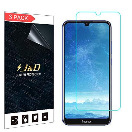 J&D Kompatibel für Huawei Honor 8A 2020 Schutzfolie, 3er Set [Nicht Ganze Deckung] Premium HD-Clear Displayschutzfolie für Huawei Honor 8A (Release in 2020) Displayschutz