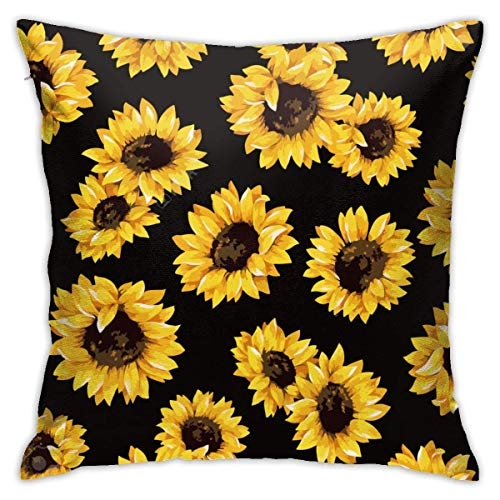 ETHAICO Sunflower,Home Decoration Throw Pillowcase Cushion Cover Double Sided Printed