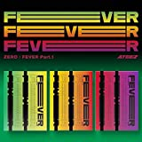 KQ Entertainment Ateez: Fever Part.1 Album + gefaltetes