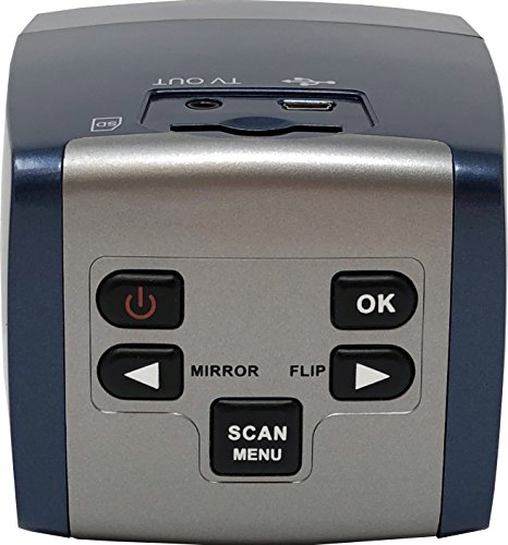 zonoz 22MP All-in-1 Film & Slide Converter Scanner w/Speed-Load Adapters for 35mm, 126, 110 Negative & Slides, Super 8 Films - Includes Worldwide Voltage 110V/240V AC Adapter (FS-Three)