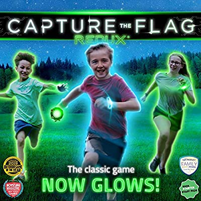 Capture the Flag REDUX: The Original Glow-in-The-Dark Outdoor Game for Birthday Parties, Youth Groups and Team Building – a Unique Gift for Teen Boys & Girls by Capture the Flag REDUX, LLC