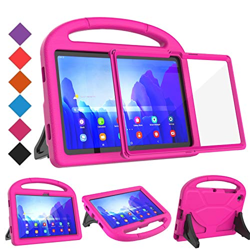 BMOUO Samsung Galaxy Tab A7 Case for Kids,Samsung Galaxy Tab A7 10.4 Case, Built-in Screen Protector, Lightweight Shockproof Handle Stand Case for Galaxy Tab A7 10.4
