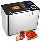 25-in-1 Bread Machine, 3.5LB Stainless Steel...