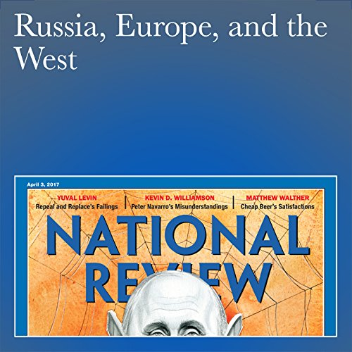 Russia, Europe, and the West audiobook cover art