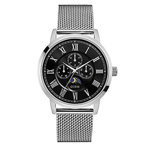 Reloj Guess Orologio Analogico Quarzo Unisex Adulto con Cinturino in Pelle W0871G1