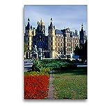 Premium Textil-Leinwand 50 x 75 cm Hoch-Format Schloss