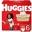 Huggies Little Snugglers Baby Diapers, Size 6, 96 Ct, One Month Supply