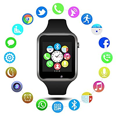 Padgene Bluetooth Smart Watch GSM Phone Watch with Camera for Samsung Nexus HTC Sony and Other Android Smartphones