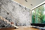 Wall-Art - Papel pintado 3D, diseño rústico de piedra