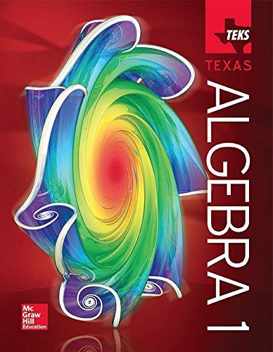 Algebra 1 - TEKS Texas Student Edition