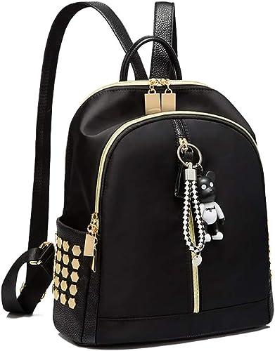 Brother's HouseYX Koreanische Version des Rucksacks Weißliche Oxford Stoff Rucksack Student Tasche