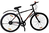 Kross Bolt 28T Slim Tyre Single Speed Bike Road Racing Bicycle, Men Boys, Black, Age 13+ Years