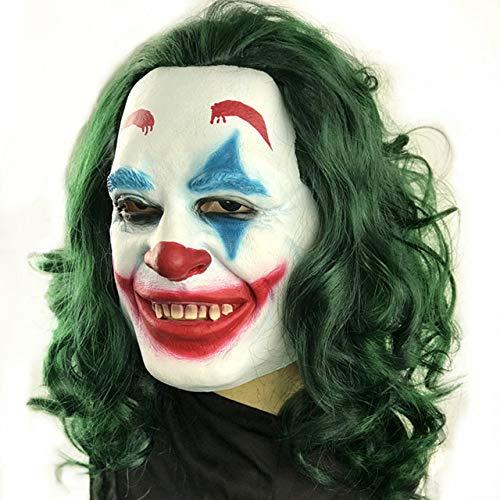 BCOGG2019 - Pelcula de Joker Joaquin Phoenix Arthur Fleck Cosplay disfraz disfraz Halloween mscara 4XL 16.99