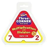 Skill Bohrer 4814cm Papier DREI Ecke Flash Karten Multiplikation und Division, weiß
