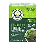 Kuli Kuli Moringa Oleifera Organic Leaf Powder & Green Smoothie, 100% Pure USDA Certified & Non-GMO Moringa Powder, Great with Smoothies, Tea, and Food, 0.4 Ounce, Pack of 20 (KK_PM)