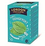 London Fruit & Herb Company Infusión de menta y regaliz naturalmente sin cafeína - 1 x 20 bolsitas de té (30 gramos)