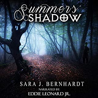 Summers' Shadow     Hunters Trilogy, Book 2              By:                                                                                                                                 Sara J. Bernhardt                               Narrated by:                                                                                                                                 Eddie Leonard Jr.                      Length: 8 hrs and 1 min     3 ratings     Overall 3.0