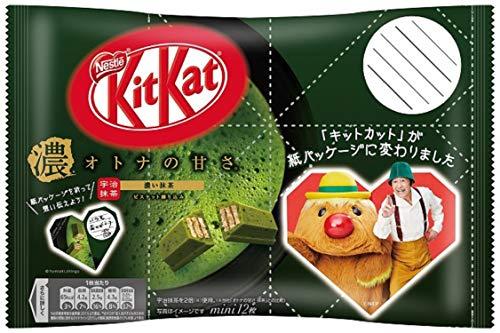 キットカット ミニ オトナの甘さ 濃い抹茶 12袋
