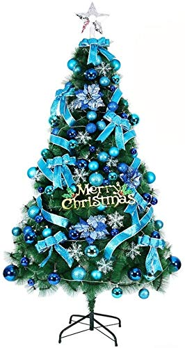 LILIS Christmas Tree pre lit christmas tree Spruce Christmas Tree, With Lights Optical Fiber Tree Blue Artificial Led Clear Lights Eco-friendly Decorated Pine Tree