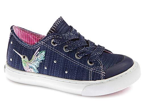 Zapatillas De Lona Niña Pablosky Azul 962821 32
