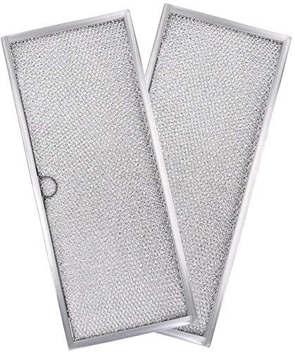 AMI PARTS 71002111 Cooktop Grease Filter Replacement for Jenn-Air, Maytag Downdraft Range Hood Filter, Replaces AP4089172, 580029, 7-15290, 715290, AH2077593(2pcs)